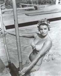 Senta Berger in a bikini
