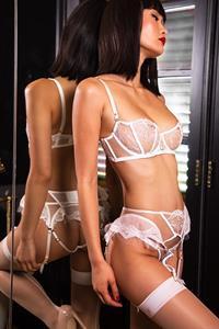 Miki Hamano in lingerie