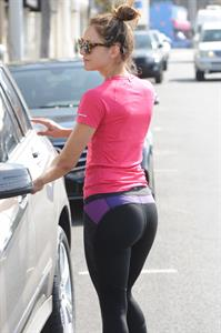 Katharine McPhee in Yoga Pants