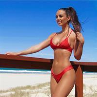 Ellen Clark in a bikini