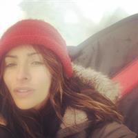 Sarah Shahi taking a selfie