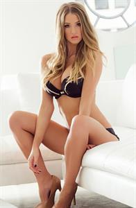 Danica Thrall in lingerie