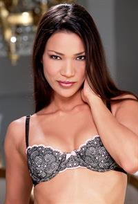 Adriana Sage in lingerie