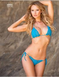 Tiffany Toth in a bikini