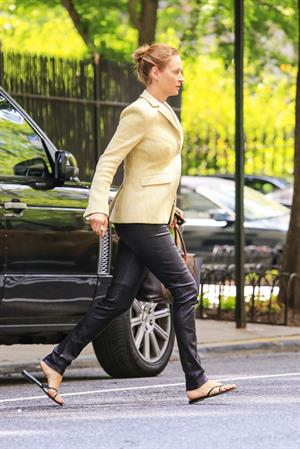 Uma Thurman in New York City (16.05.2013)