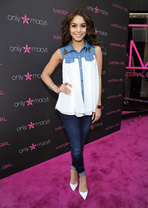 Vanessa Hudgens Material Girl's Madonna Fashion Evolution Retrospective in Century City - April 25, 2013