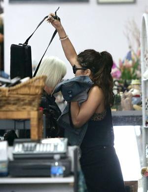 Vanessa Hudgens running errands in Los Angeles on May 7, 2013