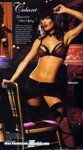 Nikkala Stott in lingerie