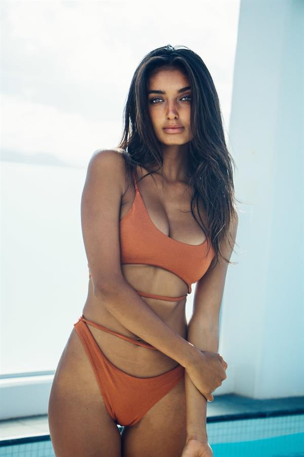 Nathalya Cabral in a bikini
