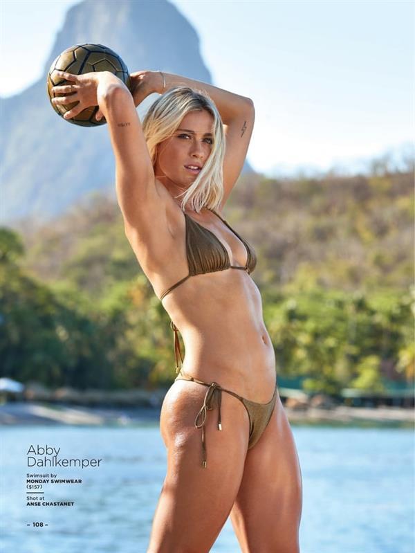 Abby Dahlkemper in a bikini