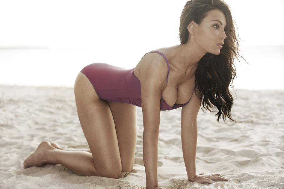 Yoanna House in a bikini