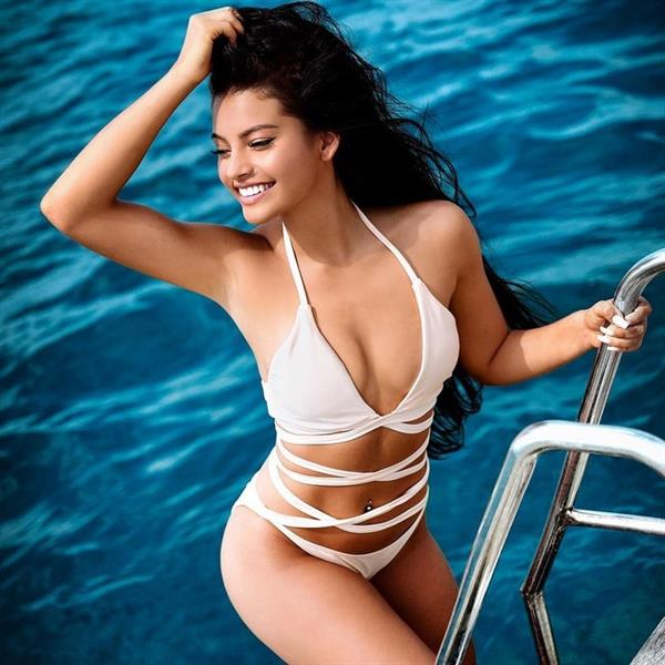 Ivana Santacruz in a bikini