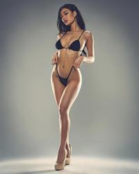 Ellie Lou in a bikini