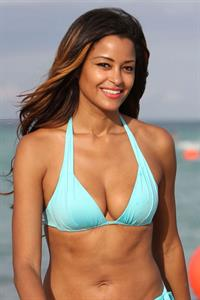 Claudia Jordan in a bikini