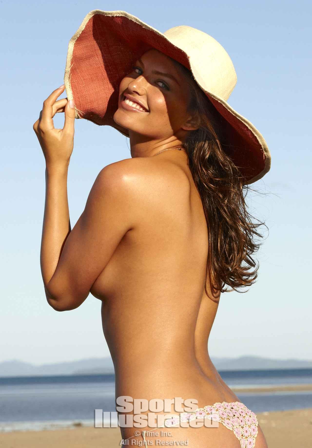 Alyssa Miller in lingerie - ass