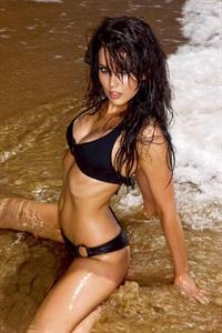 Hayley Pascoe in a bikini