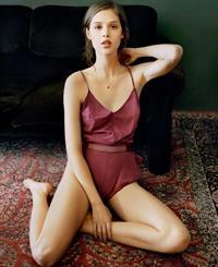 Anais Pouliot in lingerie