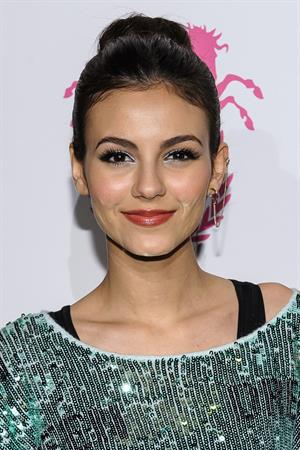 Victoria Justice Wildfox Couture fashion week event 2/6/13