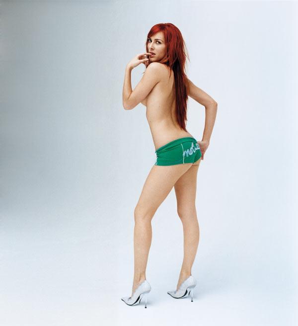 Kira Miró in lingerie - ass