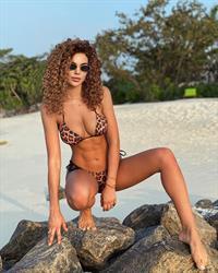 Anastasia Verbovaia in a bikini