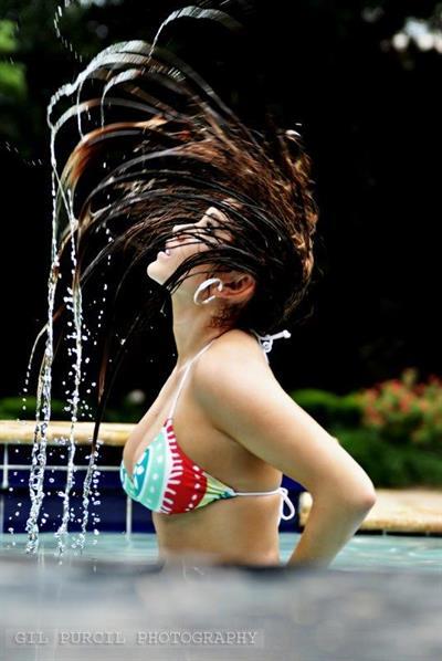 Shannon Noelle in a bikini