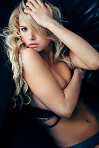 Lindsey Lamson in lingerie