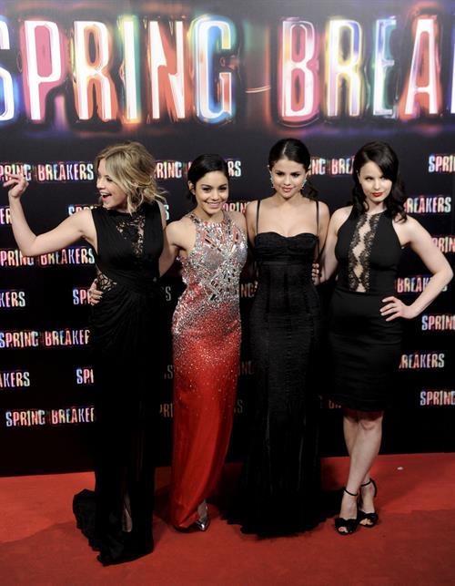 Selena Gomez Spring Breakers premiere in Madrid 2/21/13