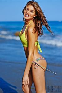 Daniela Lopez in a bikini