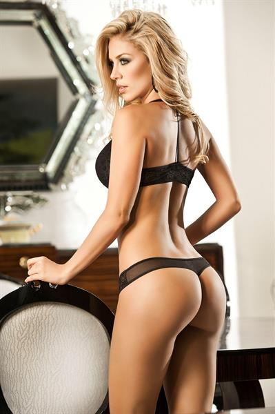 Lina Posada in lingerie - ass