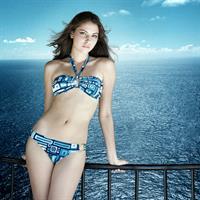 Anastasia Baranova in a bikini