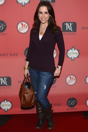 Lacey Chabert Kari Feinstein Style Lounge - Pre-Golden Globes 2013 - Day 2 (Jan 11, 2013)