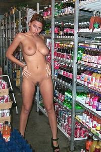 Trisha Campbell - pussy and nipples