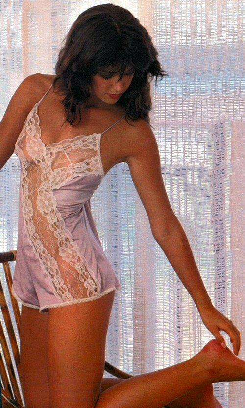 Phoebe Cates in lingerie