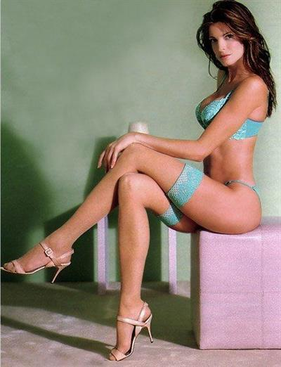 Stephanie Seymour in lingerie