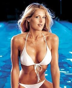 Tanya Ballinger in a bikini