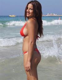 Lacey Banghard in a bikini