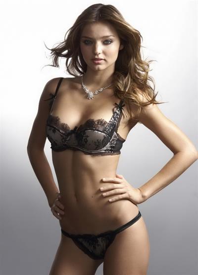 Miranda Kerr in lingerie