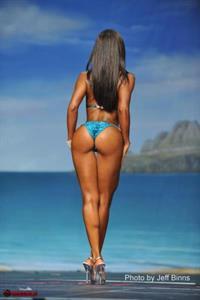 Andrea Calle in a bikini - ass