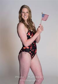 Missy Franklin in a bikini