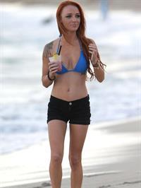Maci Bookout in a bikini