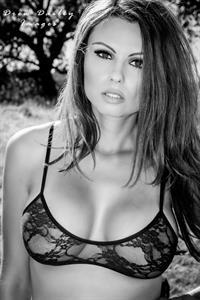 Krystle Lina in lingerie