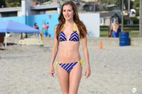 Candace Bailey in a bikini