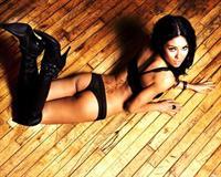 Veronika London in lingerie - ass