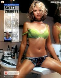 Nicki Aycox in lingerie