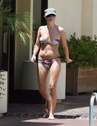 Denise Van Outen in a bikini
