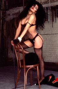 Latoya Jackson in lingerie