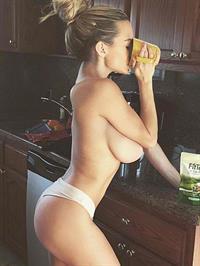 Lindsey Pelas in lingerie