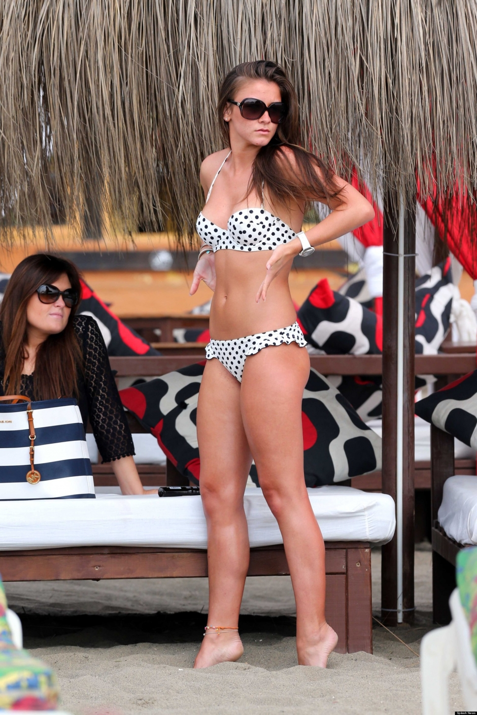 Brooke Vincent in a bikini