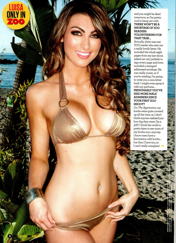 Luisa Zissman in a bikini
