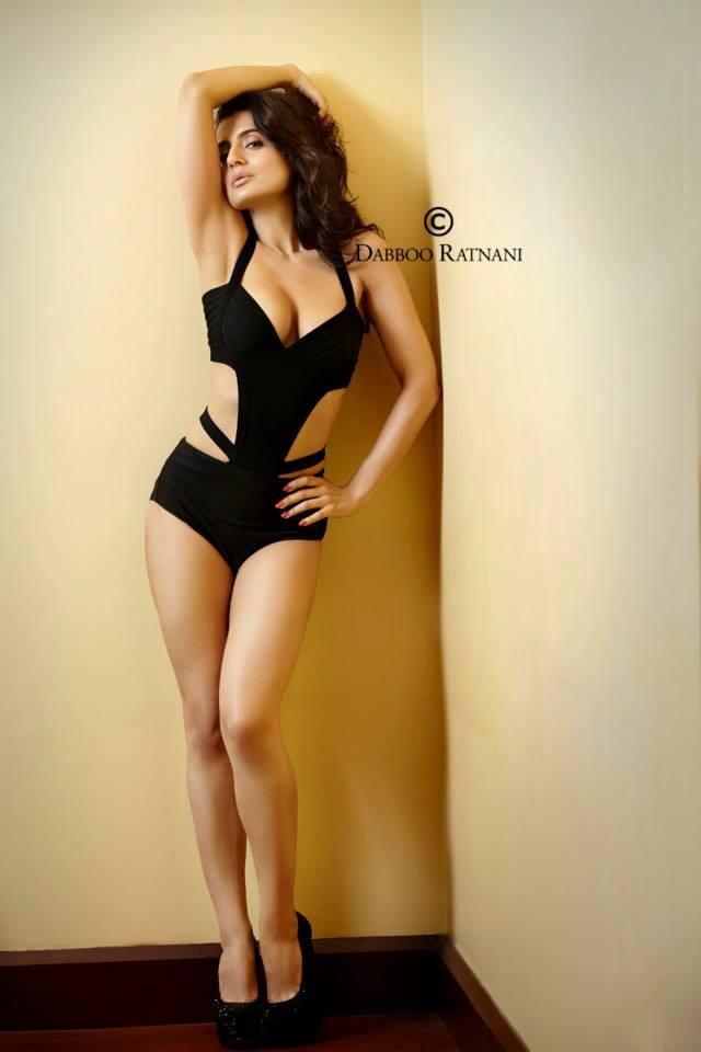 Ameesha Patel in a bikini